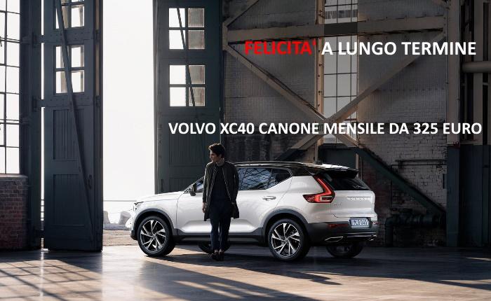 VOLVO XC40 – PROMO NOLEGGIO