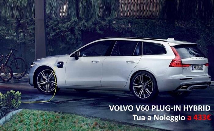 VOLVO V60 PLUG-IN HYBRID – PROMO NOLEGGIO